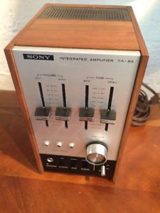 chaine audio vintage Sony