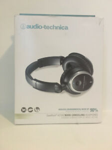audio-technica QuietPoint® Noise Cancelling Headphones ATH-ANC7b