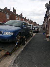 Audi a4 spares repair .