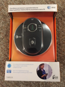 AT&T cordless answering system and accessory speakerphone