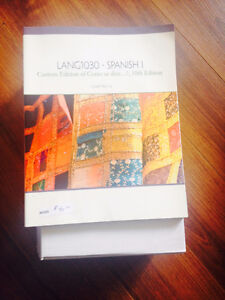 LANG1030 - SPANISH | 10th Edition | Chapters 1-6