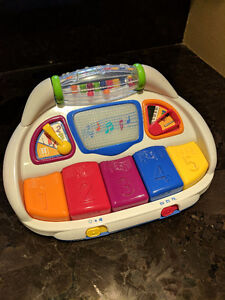 Baby Einstein piano & Fisher Price activity sounds house