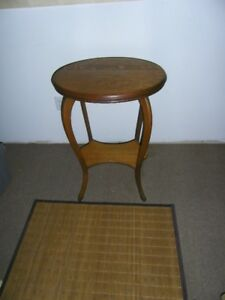 Oval Oak Parlour Table