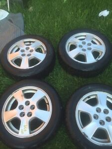 2001 Chevrolet cavalier rims and tires winter