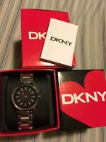 Authentic DKNY ladies watch, valentines edition