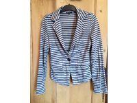 Suit jacket Didi striped size M