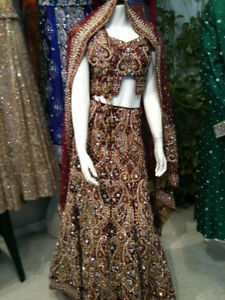 Beautiful Designer Wedding Lengha - Complete Showstopper!