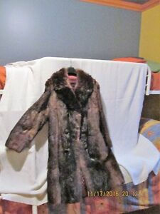 manteau fourrure OPOSSUM