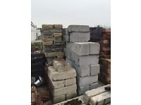 Various bricks & blocks