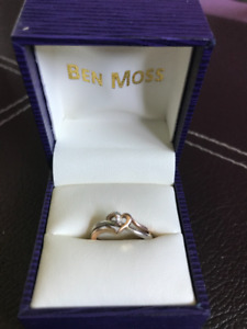 Ben Moss Heart Promise Ring