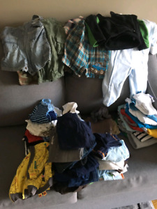 9-12 month boys brand name clothing. Gently worn.