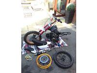 110cc Pitbike pit bike stomp demon X cr rs Dt yz etc