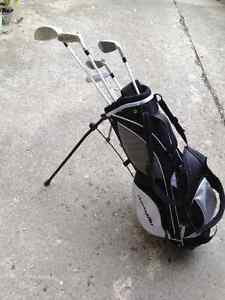 Junior Golf Clubs and Bag - Barely Used - Left Handed