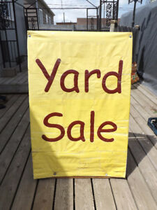 Sandwich Board Yard Sale Sign *Highly Visible*