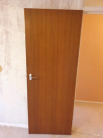 Solid wood fire doors x2can deliver 5 at 76cm double door cupboard £20