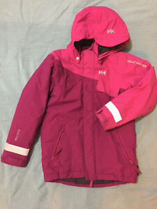 GIRLS HELLY HANSEN WINTER JACKET – SIZE 10 London Ontario image 1