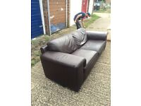Sofa, armchair, foot stool NEXT, free delivery 30miles
