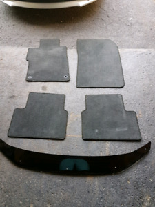 2012 honda civic mats and air deflecter