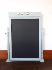 Vintage Chalkboard Stand / Message Board