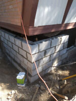 Foundation Repairs/Underpinning/Shoreing /Water Proofing.