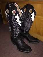 Cowboy Boots Tony Lama Women's 10 Bottes de cowboy