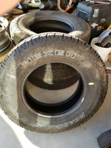 NEXEN ROADIAN AT LT235/80R17 LOAD RANGE E TIRES. New