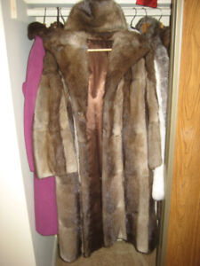 Beautiful (rabbit) Fur and leather coats