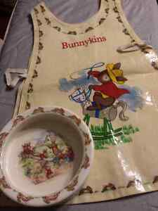 BUNNYKINS BOWL & APRON Cambridge Kitchener Area image 1
