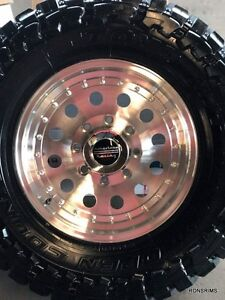 16x8 ( outlaw 2 ) wheel,,, american racing, 8 lug,,, ford chevy dodge, 8 on 6.5