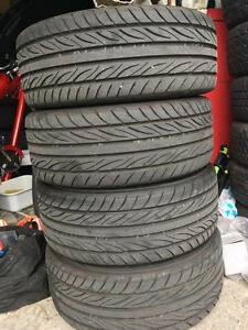 17 inch tires/mags for sale 4*114.3 ( tires are 205/40zr 17  )