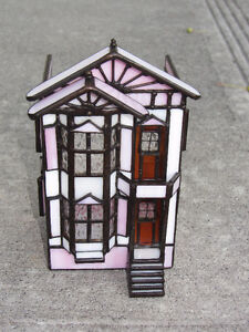 Stained Glass Decorative House