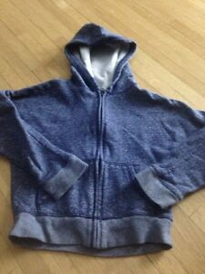 Size 6 zip up sweater