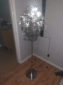 Living room free standing lamp with remote