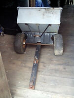 Riding Lawnmower Dump Trailer For Sale