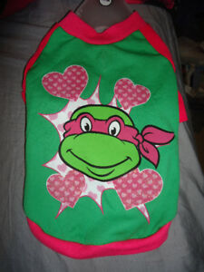 TMNT DOG OUTFIT GIRLS brand new