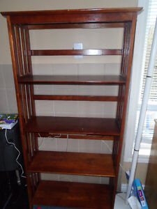 3 pieces Solid wood  bookshelf    each $30 Size – Hight inches