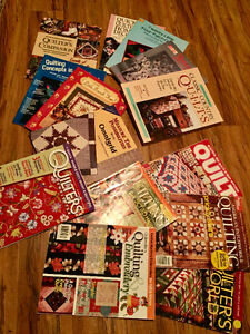 Quilting Magazines & Books will Trade for...