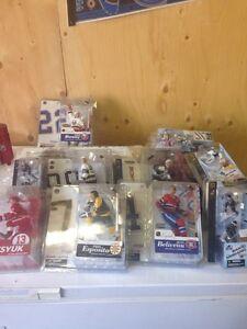 Hockey figures and McDonald's hockey