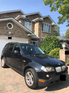 Clean 2010 BMW X3 All Wheel Drive - LOW KM - Only 2 Owner Car