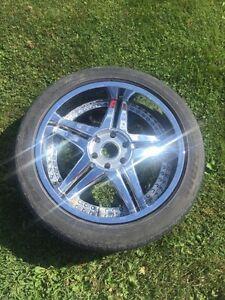 22 Inch Chrome Wheels- GMC/Chevy