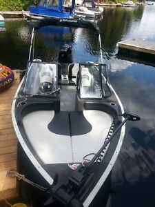 Fish and ski package upgraded 75 hp