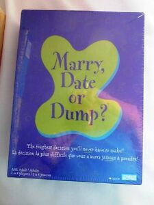 New Marry Date or Dump? Game French English