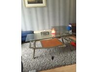 Coffee table really heavy good condition stunning offers