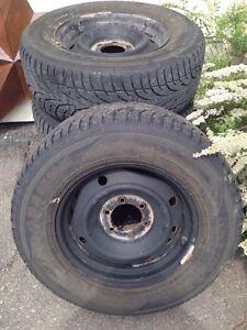 4 Sailun Ice Blazer Winter Tires