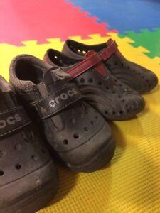 Toddler size 10 crocs/dawgs Regina Regina Area image 2