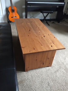 Desk, Futon, Table, and Dresser for Sale