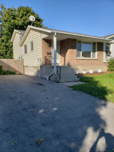 4 bedroom 2 bath Semi available now!
