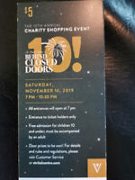 Behind Closed Doors St. Vital Sales Event Tickets