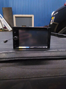 "Brand new 6"" s Sony double din touchscreen"