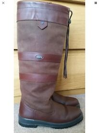 Boxed Dubarry of Ireland Galway Gore-Tex Leather boots size 5
